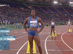 Novlene Williams-Mills 2nd in 400m Rome Diamond League