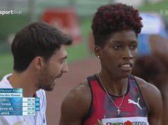Janieve Russell 🇯🇲 wins 400m Hurdles Rome Diamond League