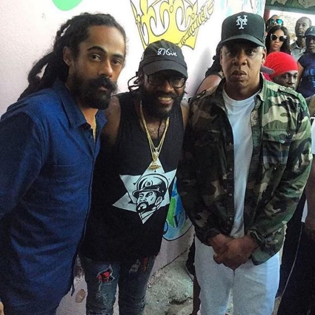 Jay Z Visits Jamaica To Work On Music With Damian Marley Sister