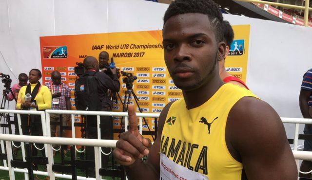 Tyreke Wilson Wins 100m Bronze at World U18 Championships