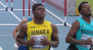 De'Jour Russell Sets New 110m Hurdles Record at World U18 Championships