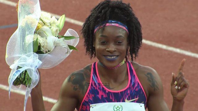 Elaine Thompson wins 100m, Sets Rabat Diamond League Record