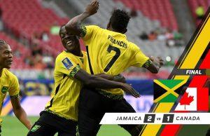 Jamaica Defeats Canada 2-1, Advances to Gold Cup Semi-final