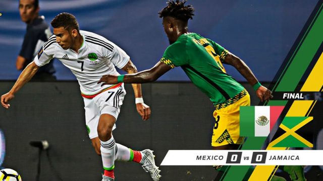 Jamaica vs Mexico draw 0-0 – CONCACAF Gold Cup