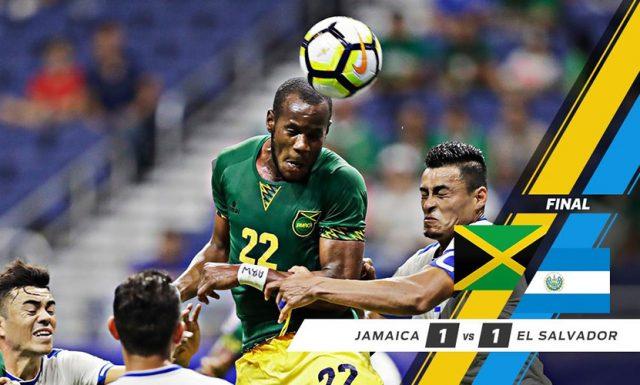 Jamaica, El Salvador advance to quarter-finals after 1-1 draw – CONCACAF Gold Cup