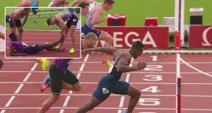 Ronald Levy wins Men's 110m Hurdles - Paris Diamond League