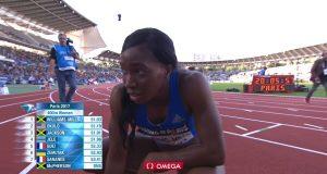 Novlene Williams-Mills Wins 400m Paris Diamond League