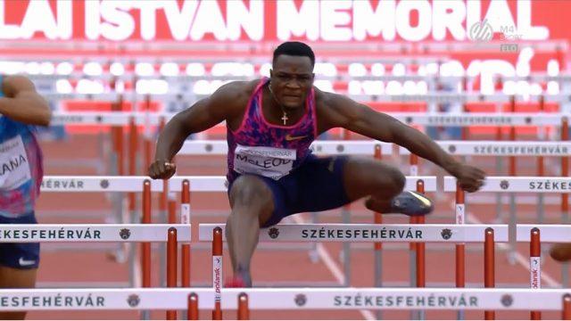 Omar McLeod clocks 12.96 in Hungary after losing in Paris