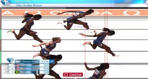 Danielle Williams 3rd in 100m Hurdles at Monaco Diamond League