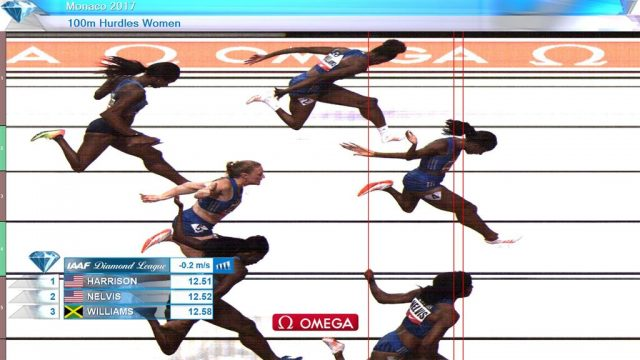 Danielle Williams 3rd in 100m Hurdles at Monaco Diamond League
