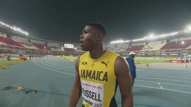 De'Jour Russell Smashes 110m Hurdles Championship Record, again