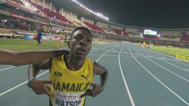 GOLD: Antonio Watson wins 400m at World U18 Championships