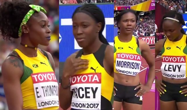Watch 4 Jamaicans Qualify for Women's 100m Semifinal at World Champions