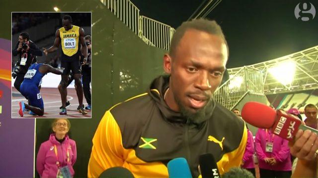 Usain Bolt says Gatlin deserved 100m Gold