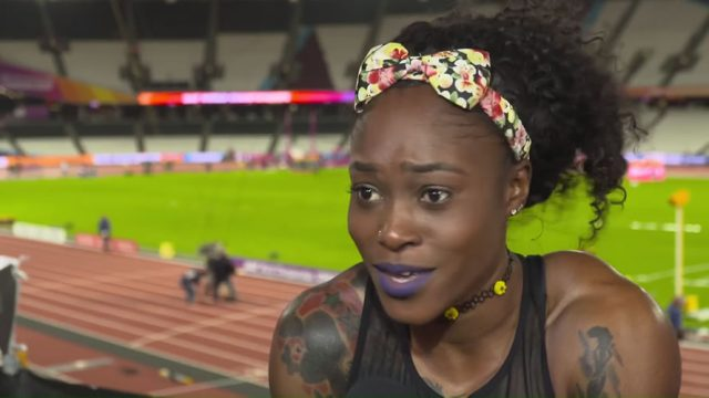 Elaine Thompson after 100m loss :