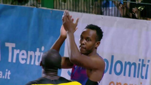 Julian Forte wins Men's 100m IAAF World Challenge in Italy