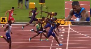 Justin Gatlin beats Usain Bolt in 100m FINAL World Championships