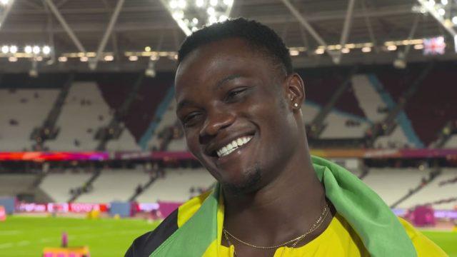 Omar McLeod dedicates 110m Hurdles GOLD to Usain Bolt