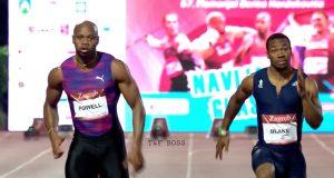Yohan Blake Wins Men's 100m IAAF World Challenge in Croatia