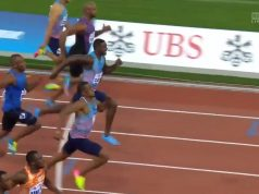 Justin Gatlin beaten by 3 men in 100m at Zurich Diamond League
