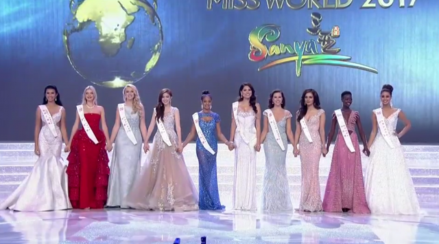 Miss Jamaica makes Miss World Top 10