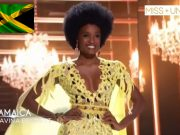 Davina Bennett 🇯🇲 makes Miss Universe Top 5