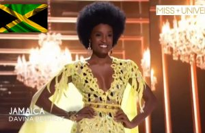 Davina Bennett 🇯🇲 makes Miss Universe Top 5