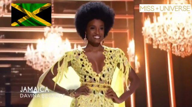 Davina Bennett ?? makes Miss Universe Top 5