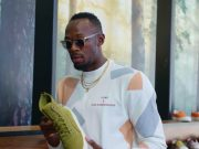 Usain Bolt Goes Sneaker Shopping