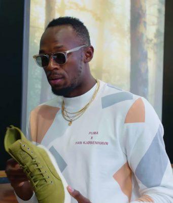 Usain Bolt Goes Sneaker Shopping