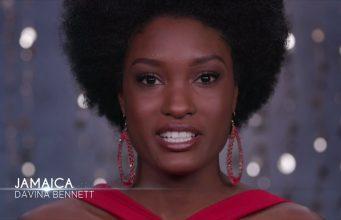 Miss Jamaica, Davina Bennett, makes Miss Universe Top 10