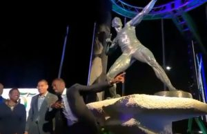 Usain Bolt Statue Unveiled in Kingston