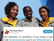 Red Stripe offers Jamaican women's bobsleigh team a sled