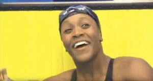 Alia Atkinson Wins Silver at the 2018 Commonwealth Games