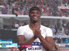 Omar McCleod Wins Men's 110m Hurdles Diamond League Shanghai