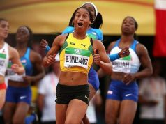 Watch 16-year-old Briana Williams Smash the 200m Championship Record to win sprint double gold