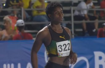 Jodean Williams Semi, Qualifies For 200m Final At Central American And Caribbean Games