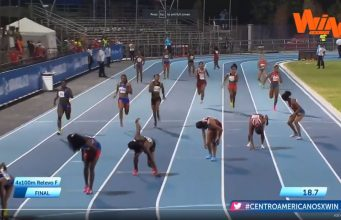 ?? Team Jamaica WINS Women's 4x100m GOLD at At The Central American And Caribbean Games