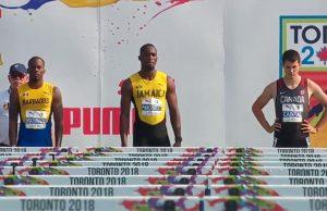 Hansle Parchment Wins Men 110 M Hurdles GOLD at NACAC Championships Toronto