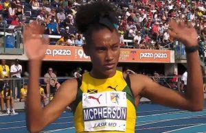 Stephanie Ann McPherson wins 400m GOLD at NACAC Championships - Toronto