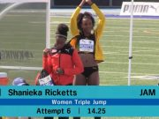 Shanieka Ricketts breaks Triple Jump record, wins gold at NACAC Championships – Toronto
