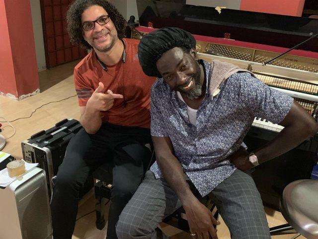 Buju Banton spotted in studio over the weekend