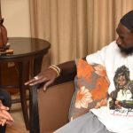 Trinidadian Commissioner of Police Visits Buju to issue an apology