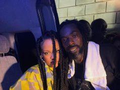 Rihanna shares selfie with Buju Banton after meeting at Barbados Concert