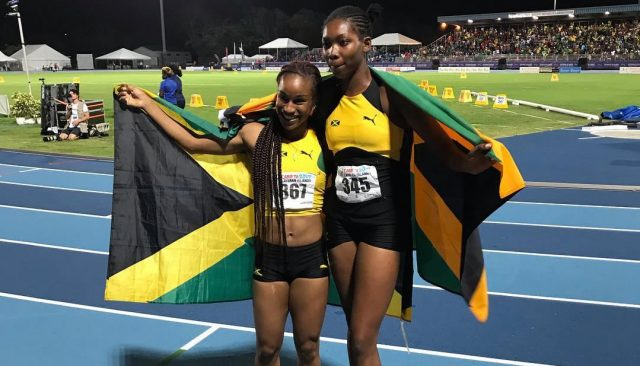 Team Jamaica win Girls' 200m U-20 Gold and Silver at 2019 CARIFTA Games