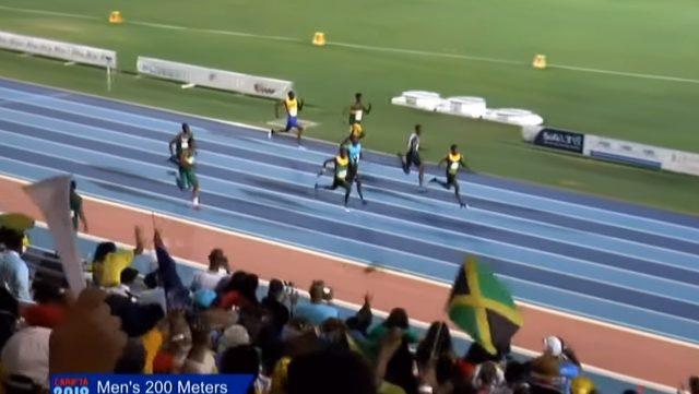 Team Jamaica won Boy's 200m U-20 Gold And Silver at 2019 CARIFTA Games