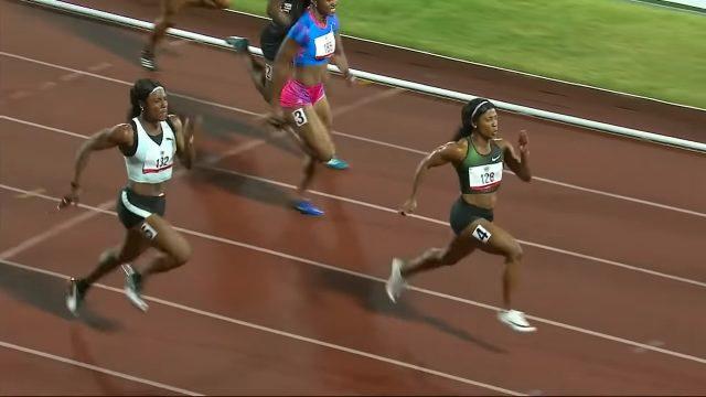 Shelly-Ann Fraser-Pryce sets 100m record at Grenada Invitational