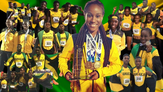 Jamaica won 85 medals to dominates 35th consecutive CARIFTA Games
