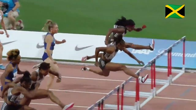 Watch: Danielle Williams wins 100m Hurdles at Doha Diamond League