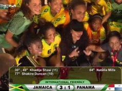 Reggae Girlz defeat Panama 3-1 in World Cup farewell match
